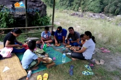 Picnic at Green beach, Chalamthang