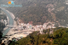 Singtam Bazar as viewed from Chalamthang Home Stay
