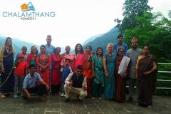 Guests at Chalamthang