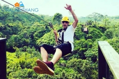 Zipline at Temi Tea Garden